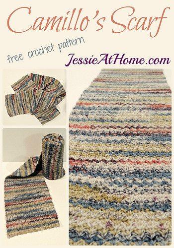crochet scarf pattern by jessie