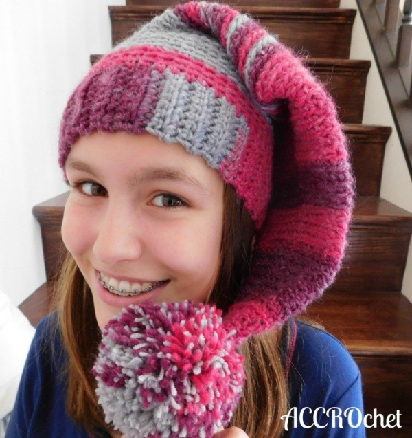crochet sleeper hat pattern