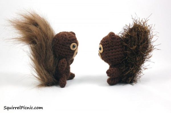 crochet squirrel free patterns