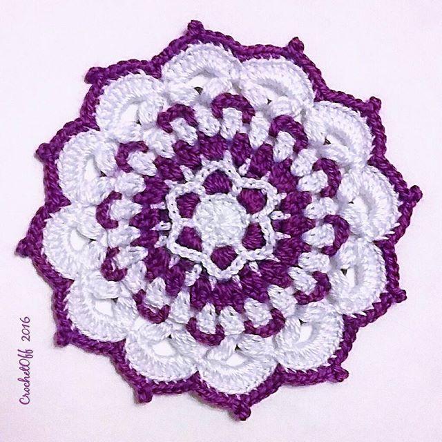 crochet_off crochet mandala