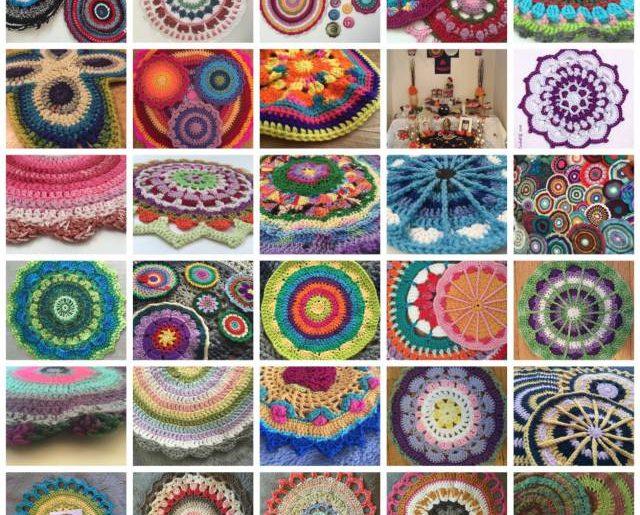 d552d69244df Mandalas for Marinke – December / January Roundup – Crochet Patterns ...