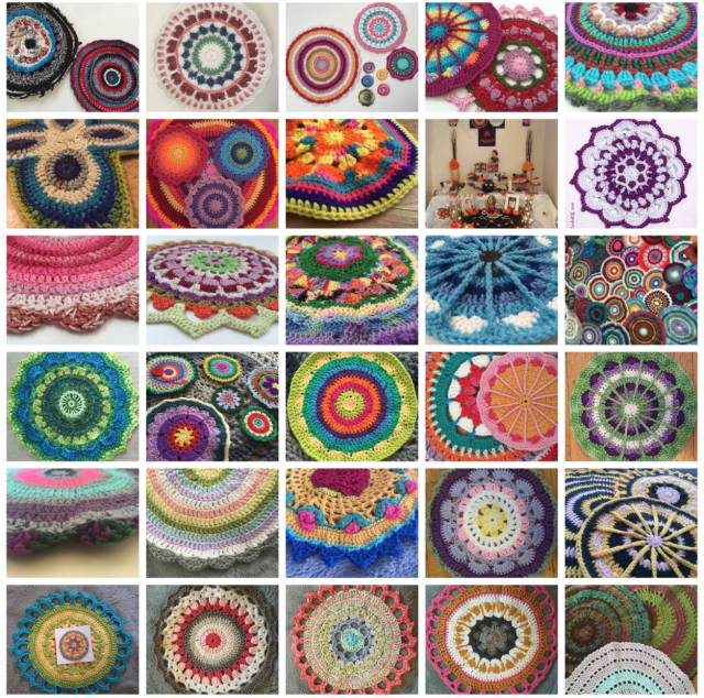 dec jan crochet mandalas for marinke