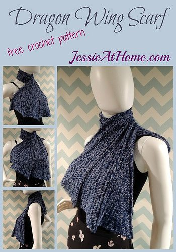 Dragon Wings Knitting Pattern : One Dozen New Crochet Patterns from Jessie Rayot   Crochet Concupiscence
