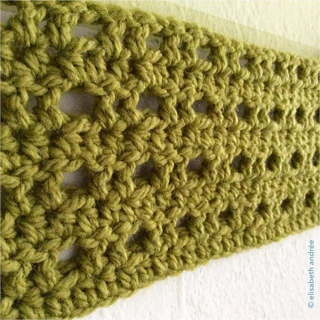 elisabethandree green crochet