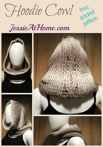 hoodie cowl crochet pattern