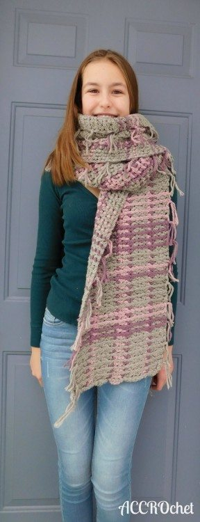 kravitz scarf crochet pattern