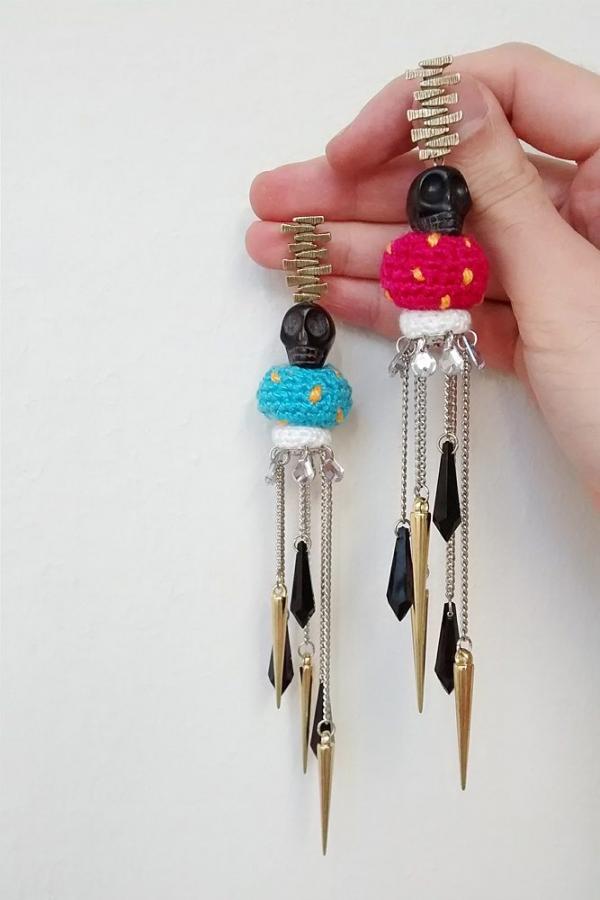 leandrodario crochet jewelry
