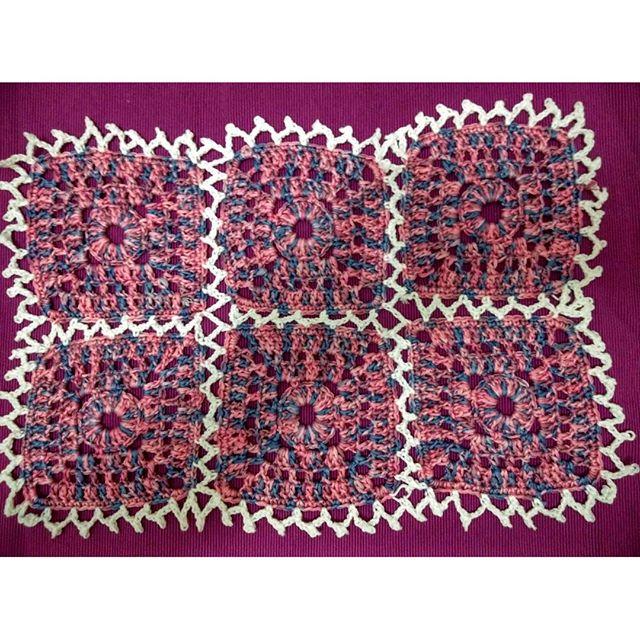 lisablue76 crochet squares