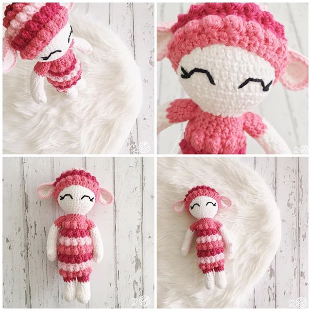 littlecosythings crochet lamb