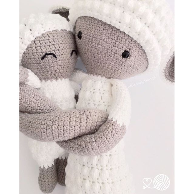 littlecosythings crochet lambs