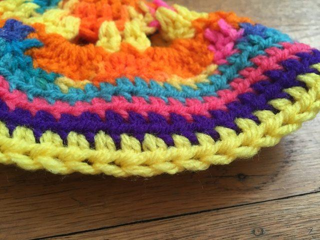 maddy crochet mandala for wink