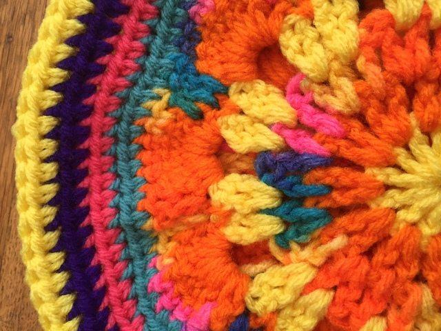 maddy crochet mandala