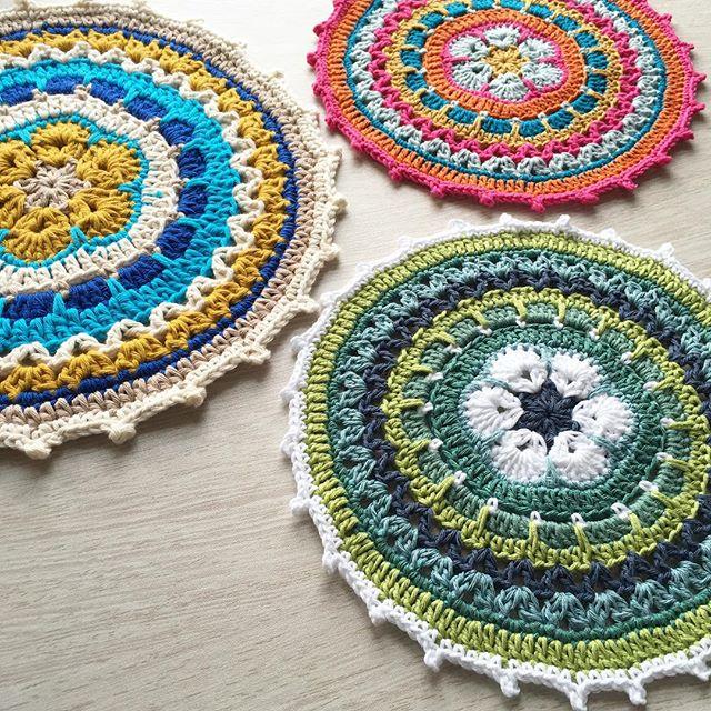 mobiusgirl crochet mandalas