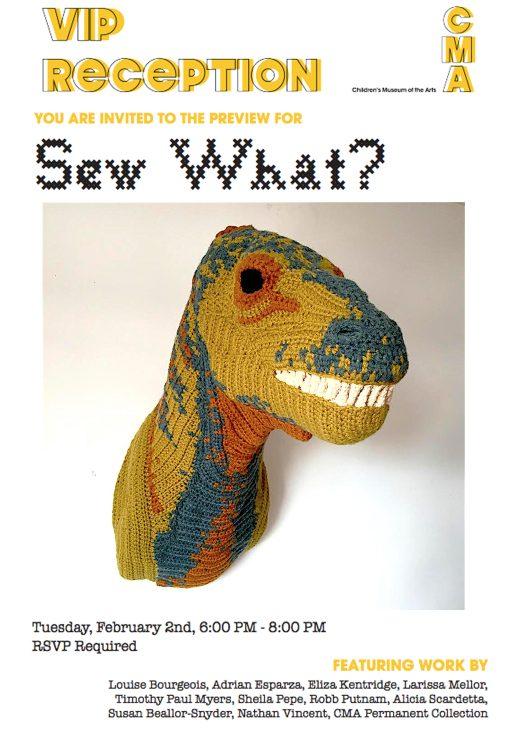 nathan vincent crochet dinosaur art