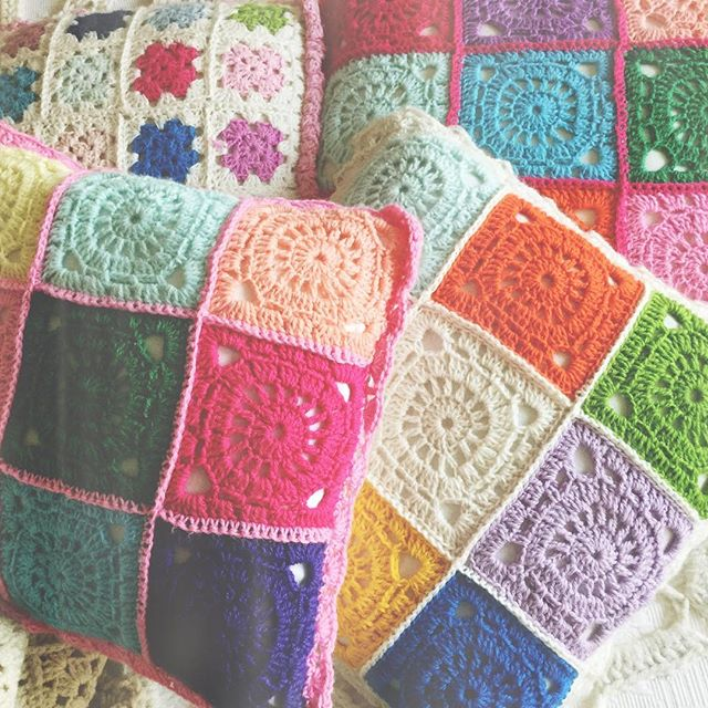 nickymirandacrochet crochet cushions