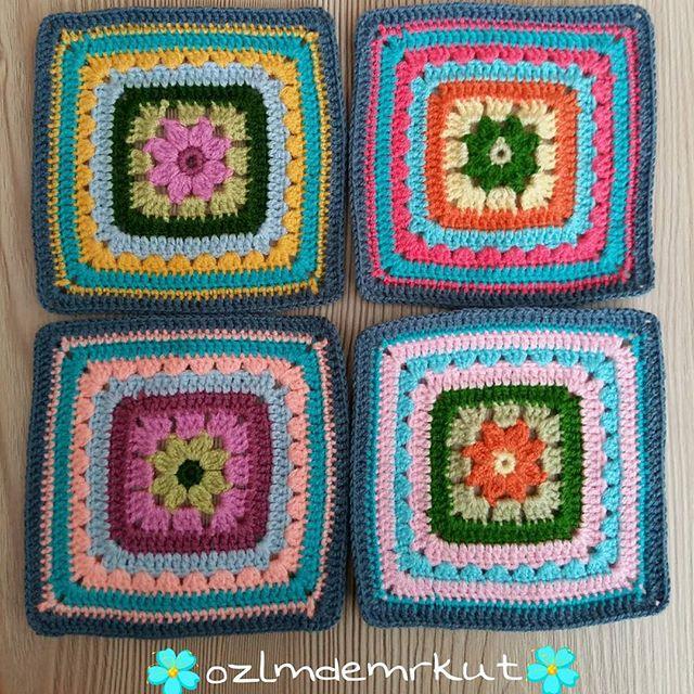 ozlmdemrkut crochet squares