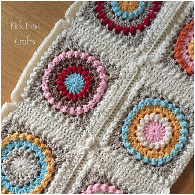 pinklimecrafts crochet blanket
