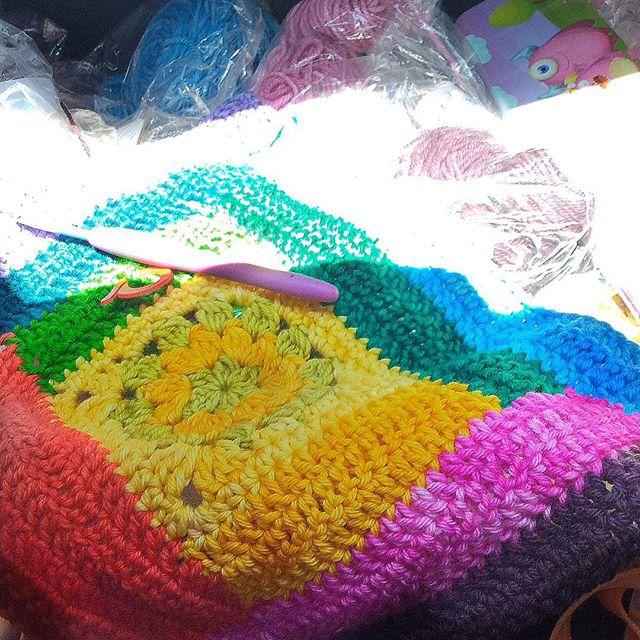 plasie3 rainbow crochet