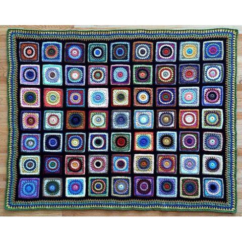 quiltwrapup crochet blanket squares