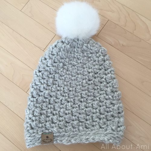 seed stitch beanie crochet tutorial