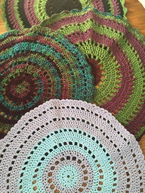 shelley crochet mandalas