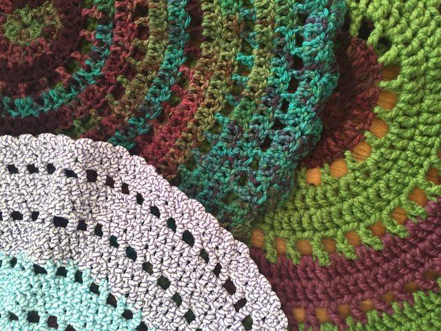 shelley k crochet mandala rugs for marinke