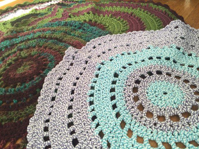 shelley kelsey crochet rug mandalas