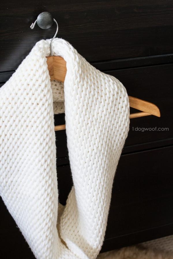 tunisian crochet cowl free pattern