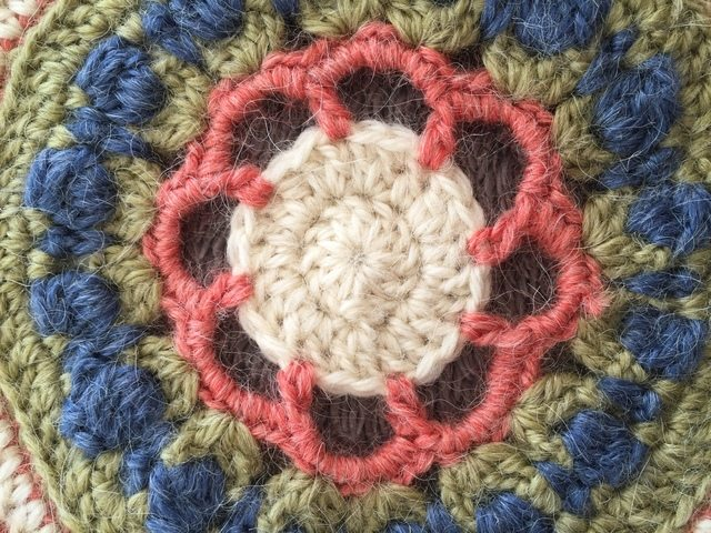 Alice's Crochet Mandala from France for MandalasForMarinke