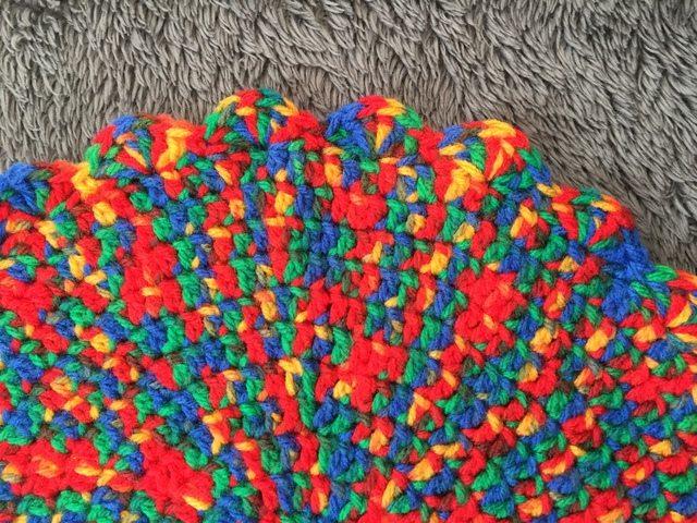 Anonymous Variegated Crochet Mandala 3