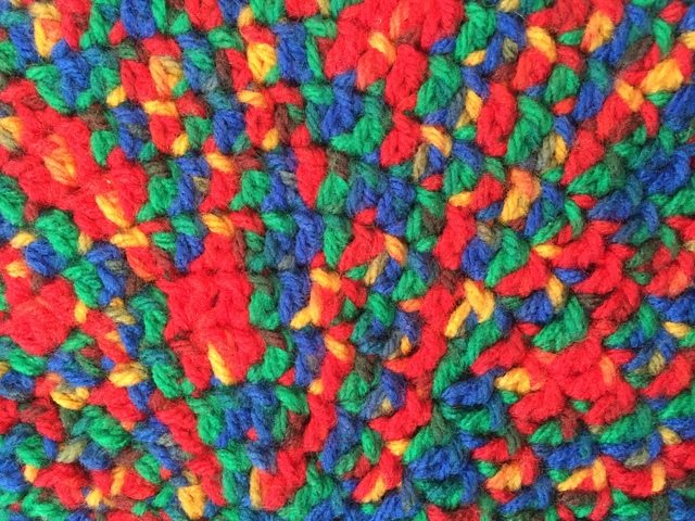 Anonymous Variegated Crochet Mandala 6