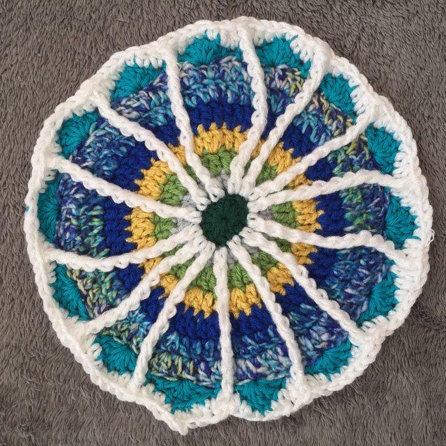 Arienne's Crochet Mandala for Wink