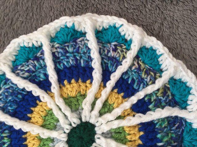 Arienne's Crochet Spoke Mandala