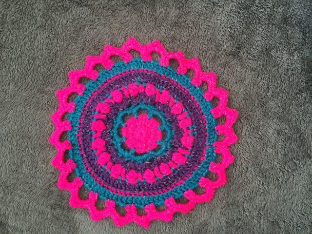 Becky's Crochet Mandala 2