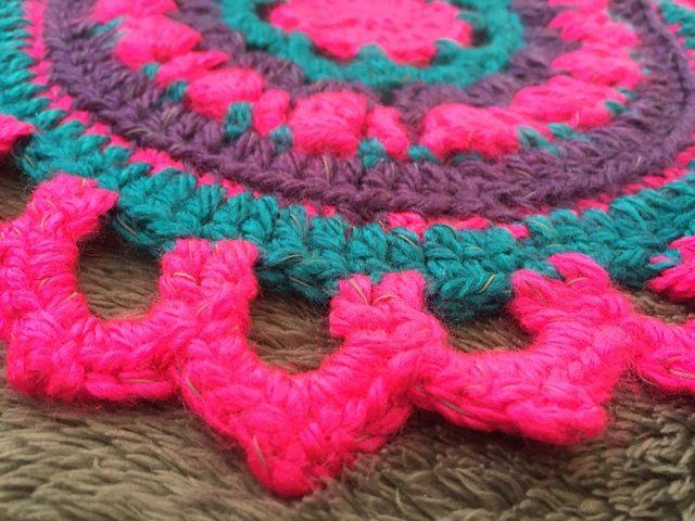 Becky's Crochet Mandala edge