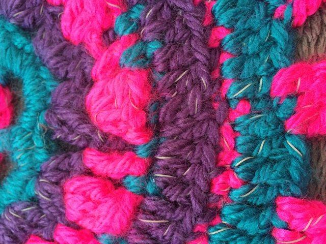 Becky's Crochet Mandala sparkle