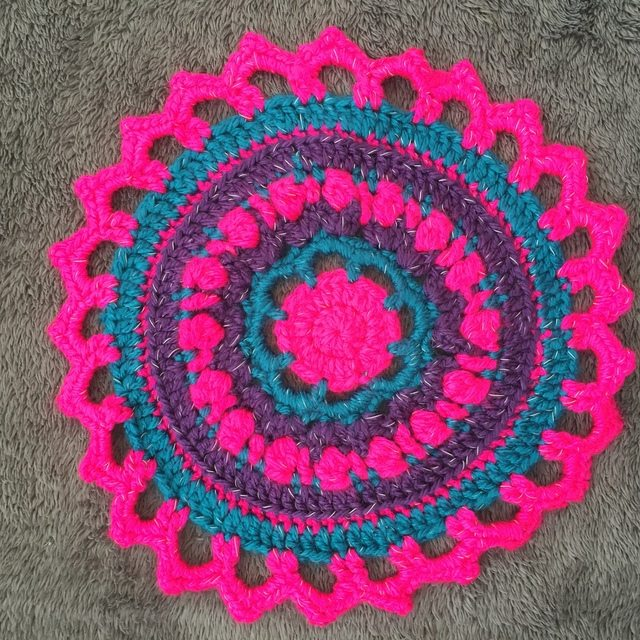 Becky's Crochet Mandala