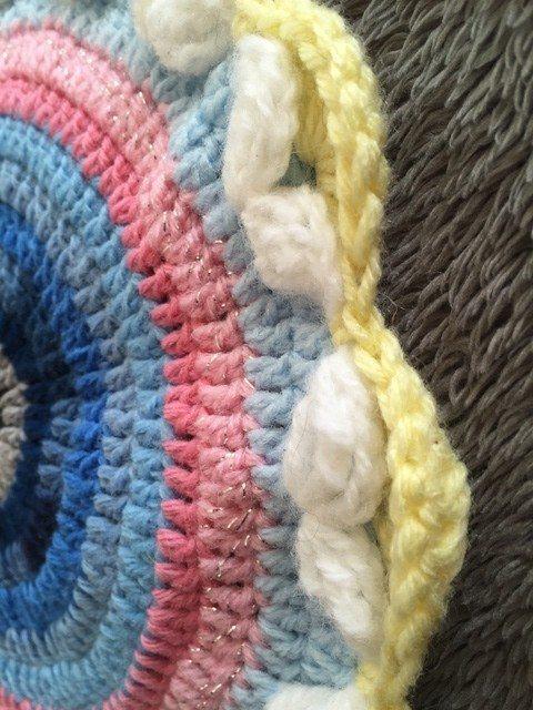 Danielle's Crochet Mandala and Story 5