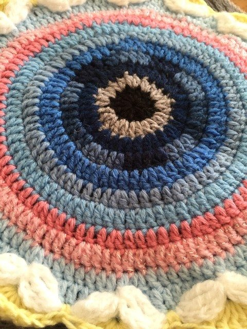 Danielle's Crochet Mandala and Story 7