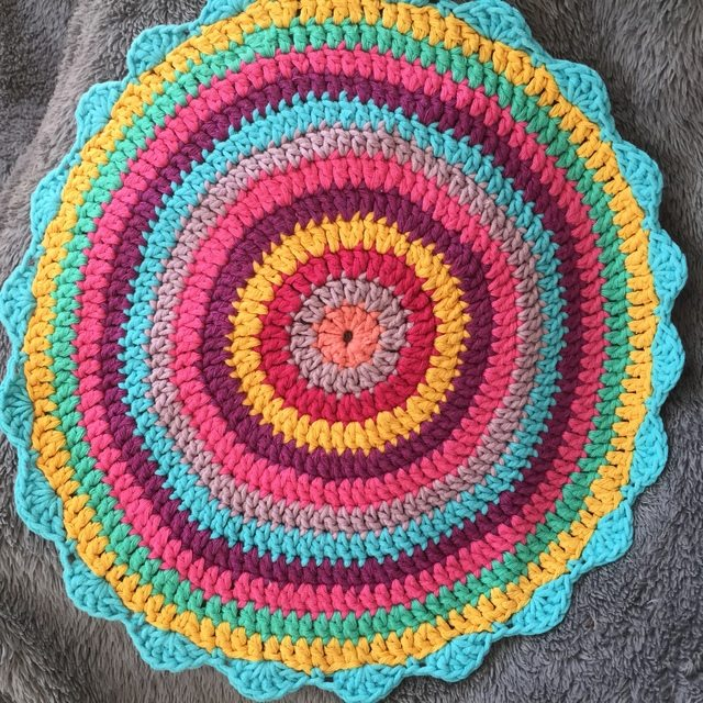 Elene's Crochet Mandala from Cyprus