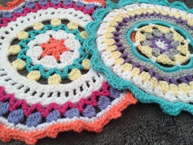 Holly's Crochet Mandala for Wink