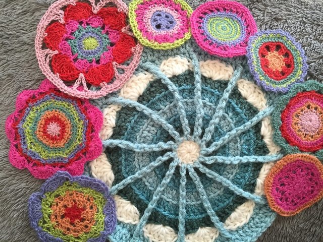 Kayt of Vivacious Art Shares Her Crochet MandalasForMarinke 2