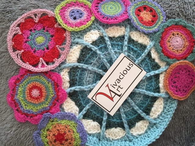 Kayt of Vivacious Art Shares Her Crochet MandalasForMarinke
