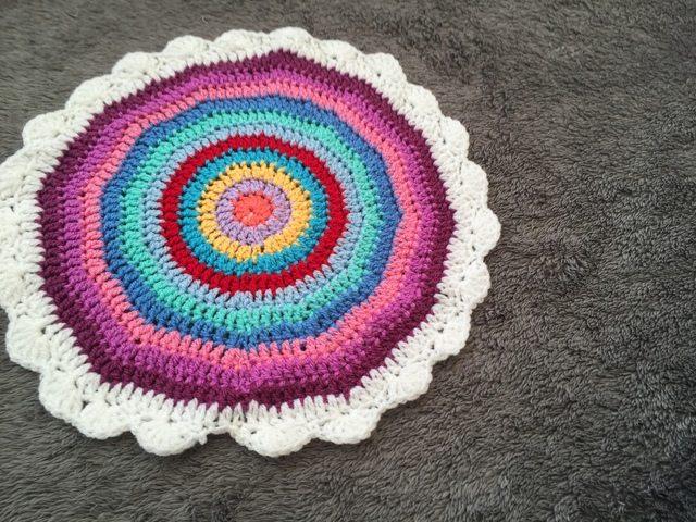 Leigh's Crochet Mandala