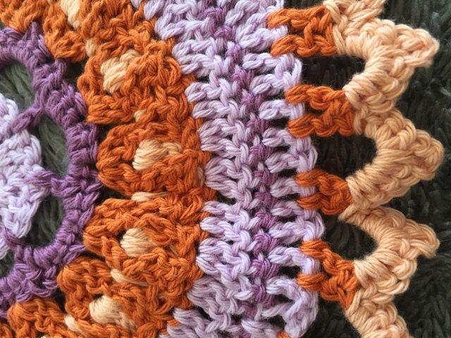 Lynda @LoveAGoodYarn Crochet Mandala