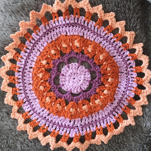 Lynda @LoveAGoodYarn Shares Her Crochet Mandala