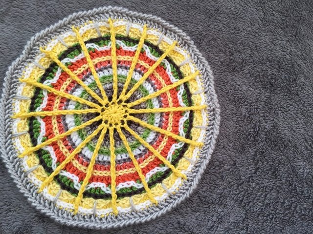 The Knottingham Crochet Mandala