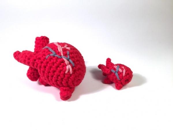 anatomical crochet heart free pattern