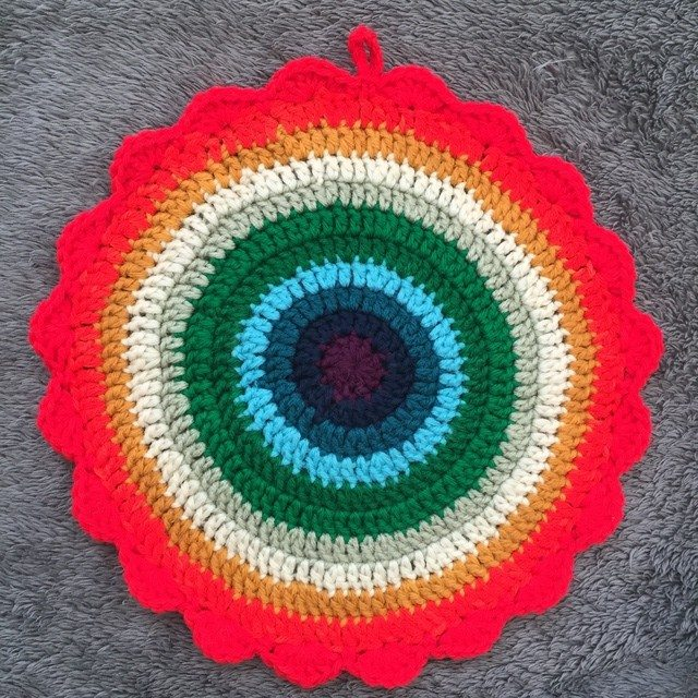 anonymous crochet mandala 5