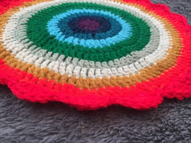 anonymous crochet mandala 6
